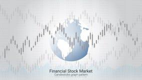 Forex effectenbeursinvestering handelconcept Stock Afbeeldingen