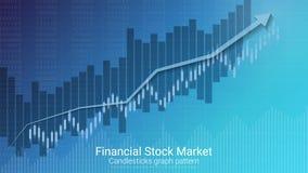 Forex effectenbeursinvestering handelconcept Royalty-vrije Stock Afbeeldingen