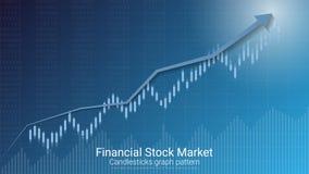 Forex effectenbeursinvestering handelconcept Royalty-vrije Stock Fotografie