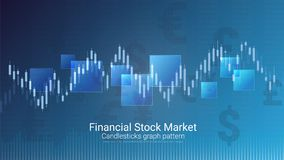 Forex effectenbeursinvestering handelconcept Stock Foto