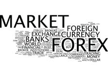 Forex Explained In Detail Word Cloud Concept. Forex Explained In Detail Text Background Word Cloud Concept Stock Photos