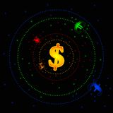 Forex galaxy Stock Photo