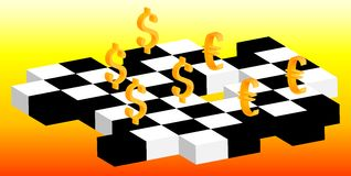 Forex game Royalty Free Stock Image