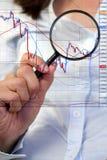 Forex handel Royalty-vrije Stock Fotografie