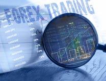 Forex handelconcept royalty-vrije stock foto's