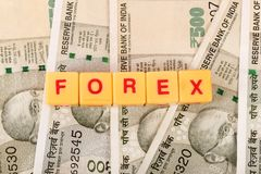 Forex investment royalty free stock photography