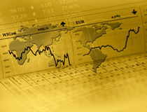 Forex market Stock Photos