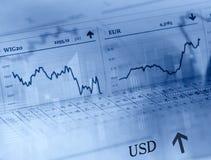 Forex market Stock Photography