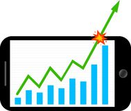Forex mobili Fotografie Stock Libere da Diritti