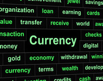 Forex Money Means Foreign Currency And Exchange Royalty Free Stock Photo