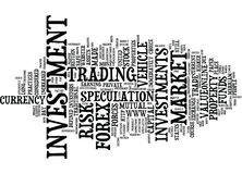 Forex The Other Investment Vehicle Text Background  Word Cloud Concept Royalty Free Stock Image