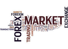 Forex Profits Text Background  Word Cloud Concept Stock Photo