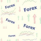 Forex seamless Royalty Free Stock Photo