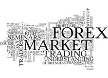 Forex Seminars In Todays Market Text Background Word Cloud Concept Royalty Free Stock Images