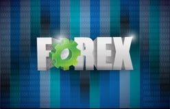 Forex sign illustration design Stock Images