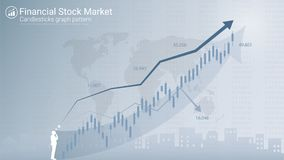 Forex stock market investment trading concept. Royalty Free Stock Photo