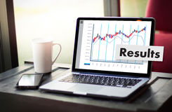 Forex Stock Market Results Stock Trade Report Forex Shares busin Stock Photos