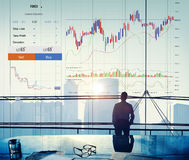 Forex Trade Graph Chart Concept Stock Photography