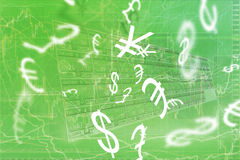 Forex trading Stock Photography