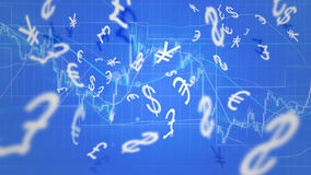 Forex trading Stock Image