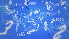 Forex trading Royalty Free Stock Photos