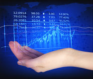 Forex trading royalty free stock photography
