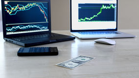 Forex trading Stock Photos