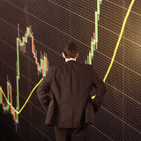 Forex trading technical analysis concept Royalty Free Stock Images