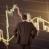 Forex trading technical analysis concept Stock Photo