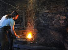 The forge. Stock Images