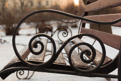 Forge fence. Ancient forge fence from S.Peterburg Stock Photography