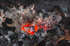 Forge fire Royalty Free Stock Images