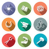 Forge Icon set Royalty Free Stock Photography