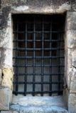 The forged black latticel. Stock Photo