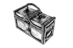 Forged chest Stock Photography