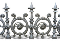 Free Forged Decorative Fence Stock Photography - 24758392
