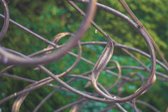 Forged decorative lattice Stock Photography