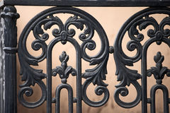 Forged decorative rails Royalty Free Stock Photography