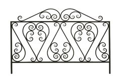 Forged  fence. 22. Royalty Free Stock Photography