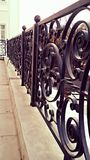 Forged fence. Stock Photos