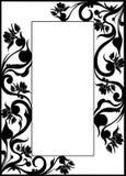 Forged frame. Window design ornate royalty free illustration