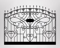 Forged gate. Stock Photography