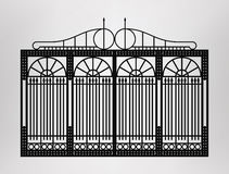 Forged gate. Stock Images