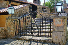 Forged gates Stock Photos