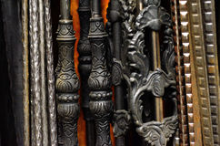 Forged metal products Stock Photography