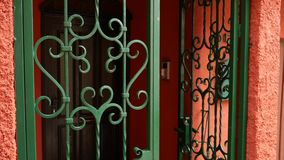 Forged metali produkty Naliczków drzwi, bramy, schodowi poręcze zbiory wideo