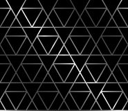Forged Seamless Background with triangles. Forged seamless background with symmetry ornament Royalty Free Stock Image