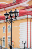 Forged street lamp Stock Image