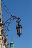 Forged street lamp Royalty Free Stock Photography