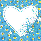 Forget me not card Royalty Free Stock Images